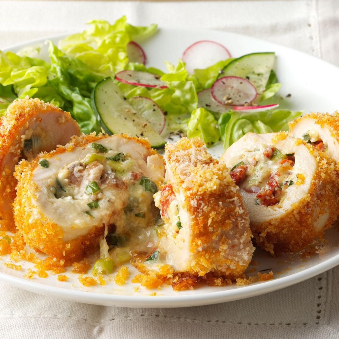Fontina Rolled Chicken - chicken recipes good food