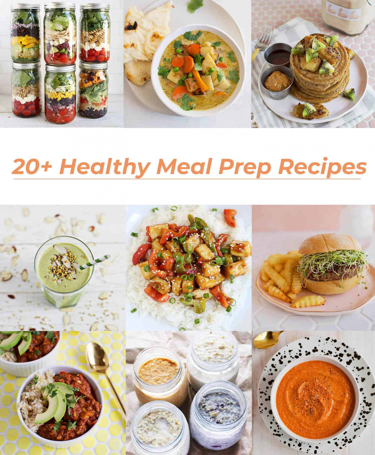 Food: 10+ Healthy Meal Prep Recipes – DiyForYou - healthy meal prep recipes