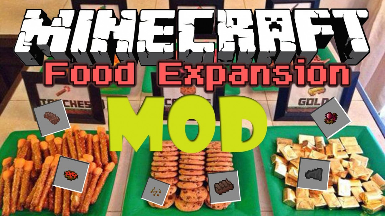 Food Expansion - Mods - Minecraft - CurseForge - recipes minecraft food