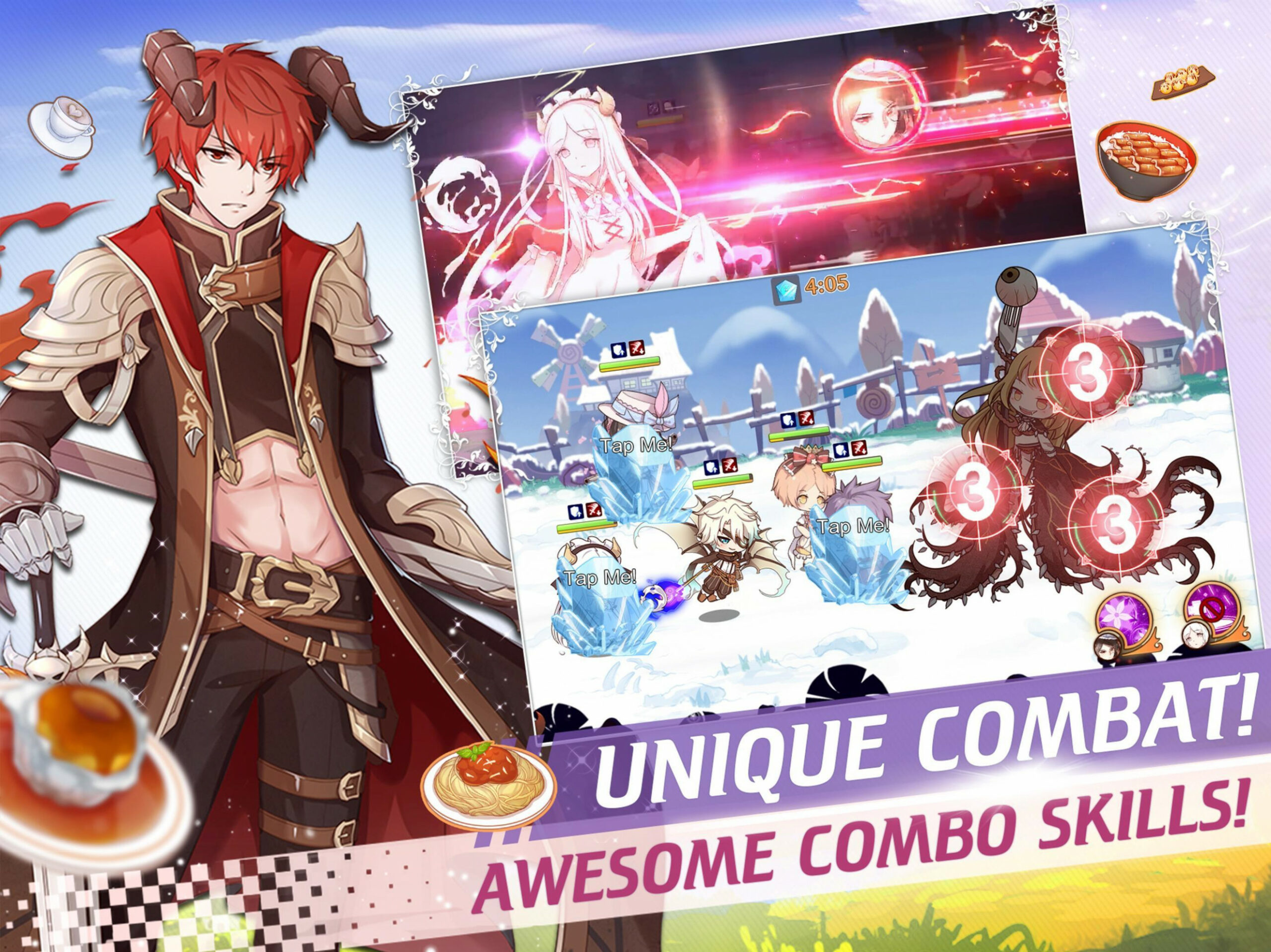 Food Fantasy for Android - APK Download - recipes in food fantasy game