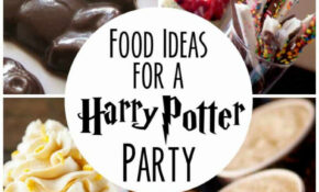 Food Ideas For Your Harry Potter Party – Recipes Harry Potter Food