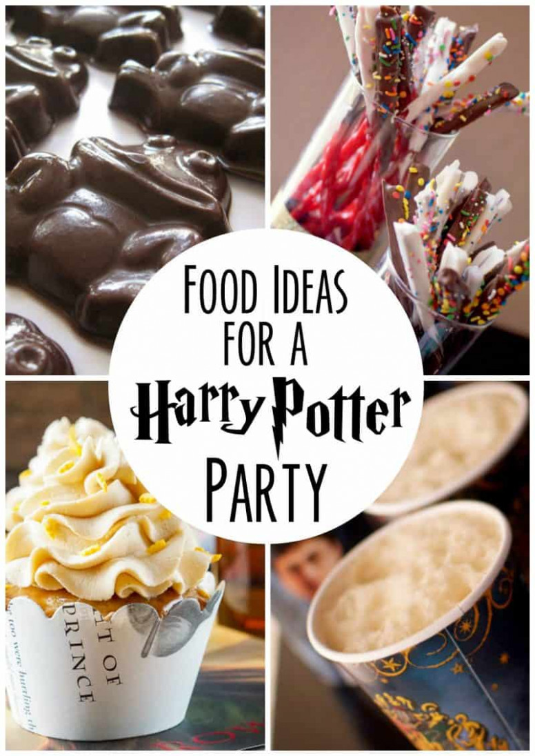 Food Ideas For Your Harry Potter Party - recipes harry potter food