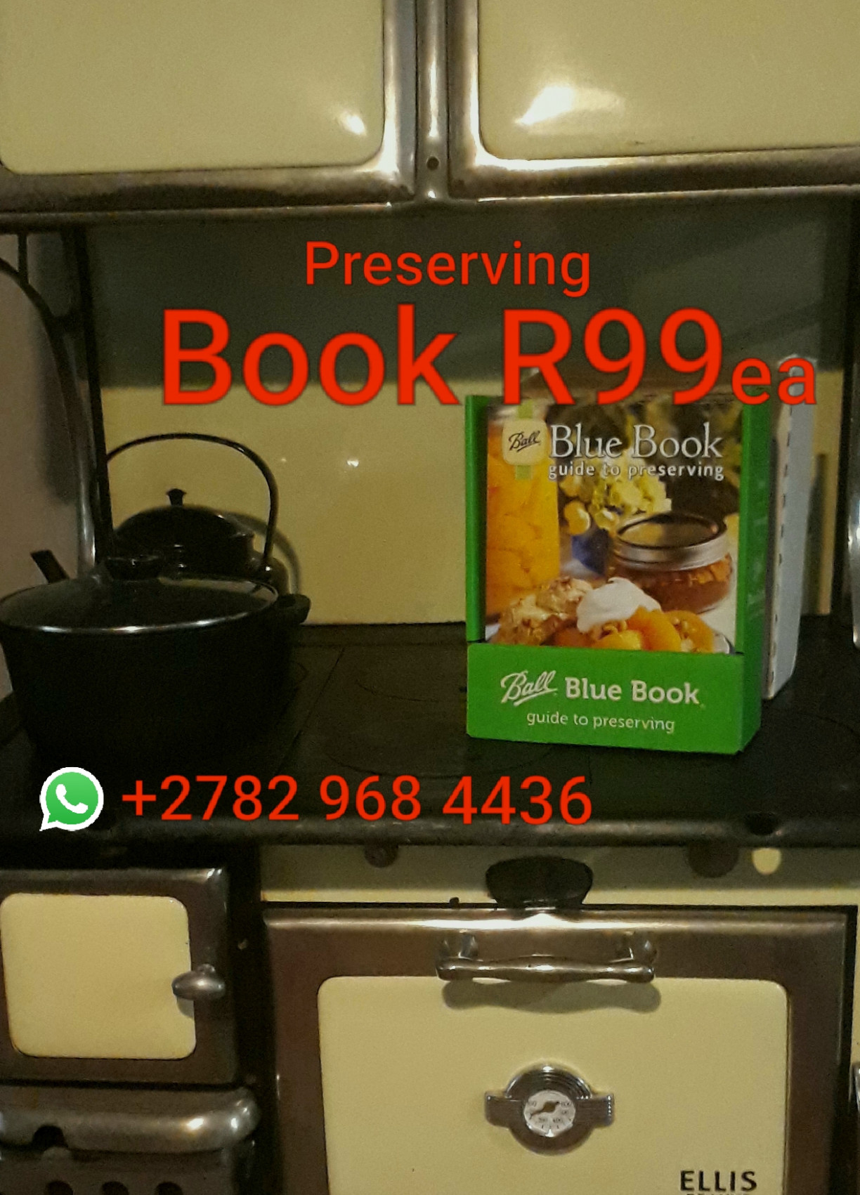 Food Preserving Book with Recipes, new. Food security Canning Dehydrating  Freezing Pickling etc Food Preservation Foo Security Inmaak Bottel en bere  | ..