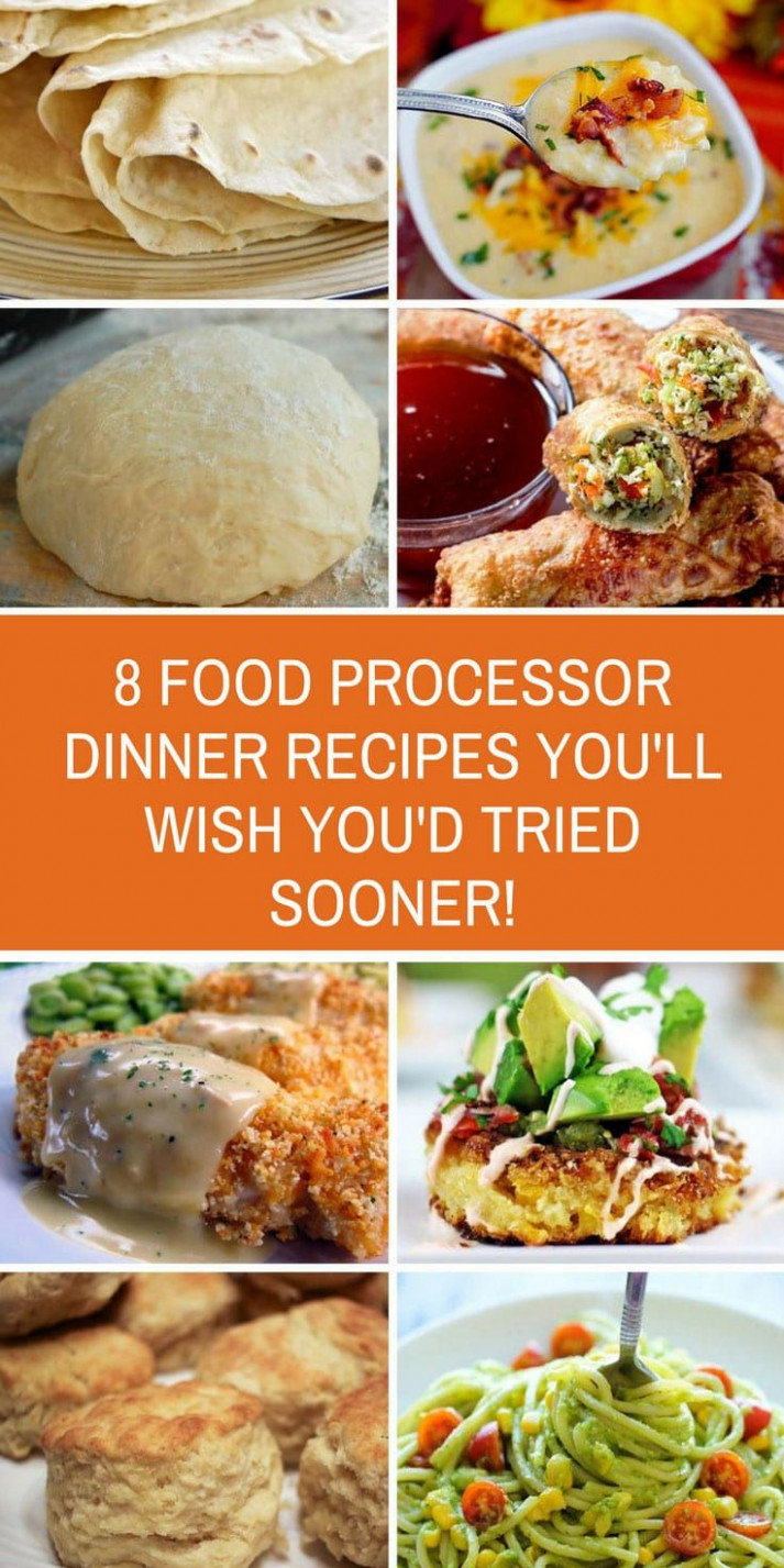 Food Processor Dinner Recipes - Delicious and Easy to Make ..