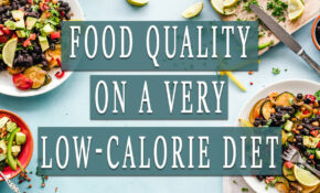 FOOD QUALITY ON A VERY LOW CALORIE DIET | HCG Diet – Low Calorie Food Recipes