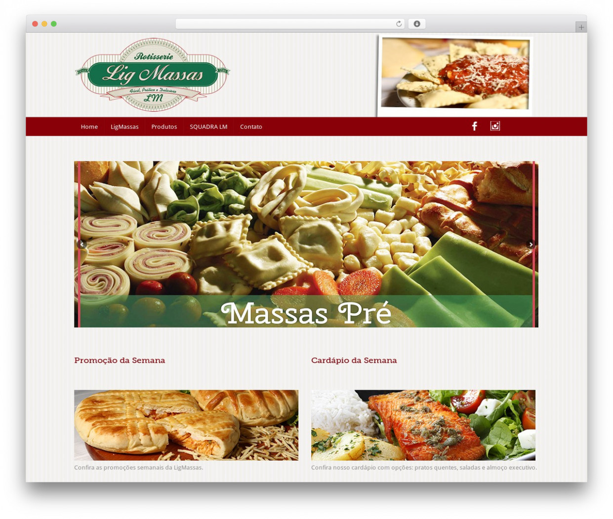 Food Recipes WordPress template free by FasterThemes ..