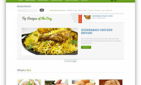 Food Recipes WordPress Theme By FasterThemes ..
