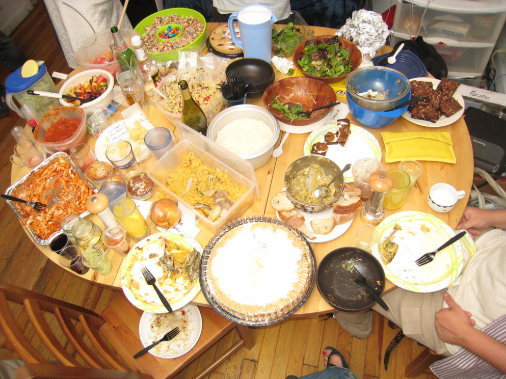 Food table - recipes brazilian food