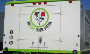 Food Truck Signage: Advertising For Meat The Pita, Tempe, AZ – Mediterranean Recipes Chicken