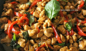 Food Wanderings : Thai Basil Chicken – Recipes Thai Food