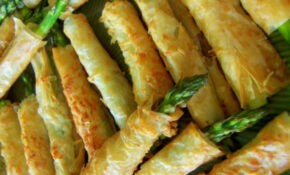 Foodista | Asparagus Filled Phyllo Pastries Make A Perfect ..