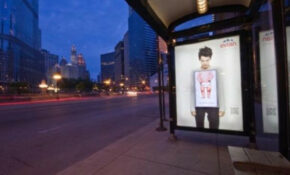 Foodista | Interactive Evian Bus Shelters Feature A ..