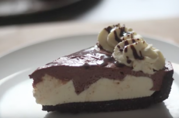 Foodista | No Bake Copycat Hershey Cream Pie - chicken recipes at home