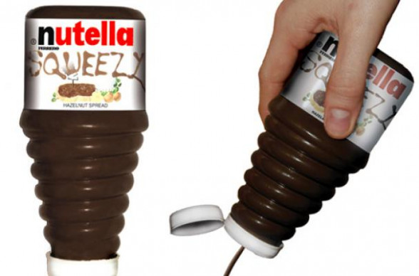 Foodista | Nutella Squeeze Bottle is a Pressing Demand - recipes chinese chicken