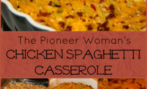 For The Love Of Food: The Pioneer Woman's Chicken Spaghetti ..