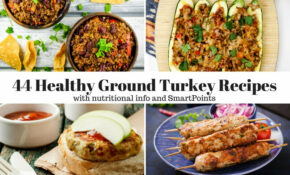 Forty Four Healthy Ground Turkey Recipes – Slender Kitchen – Healthy Recipes With Ground Turkey