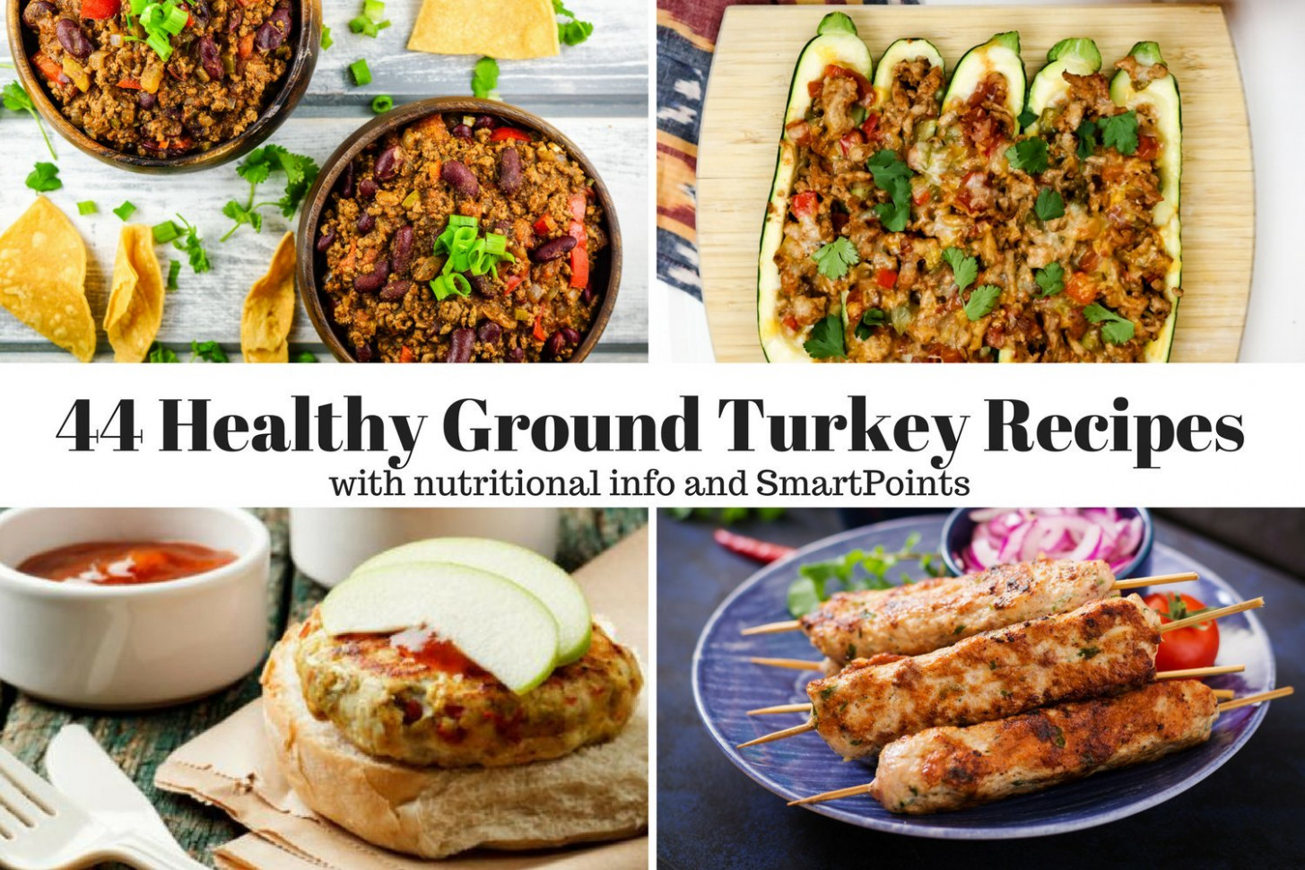 Forty Four Healthy Ground Turkey Recipes - Slender Kitchen - healthy recipes with ground turkey