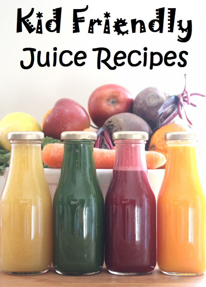 Four Kid Friendly Juice Recipes - My Fussy Eater | Healthy ..