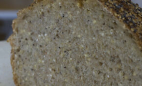 Four Seed No Knead Loaf – Millet Recipes Vegetarian