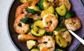 Freaking Fast Sautéed Shrimp With Zucchini – Delightful Plate – Dinner Recipes With Zucchini And Squash