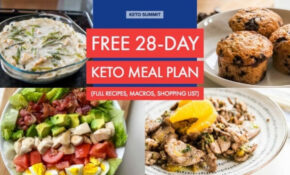 Free 13 Day Keto Meal Plan – Keto Diet Food Recipes