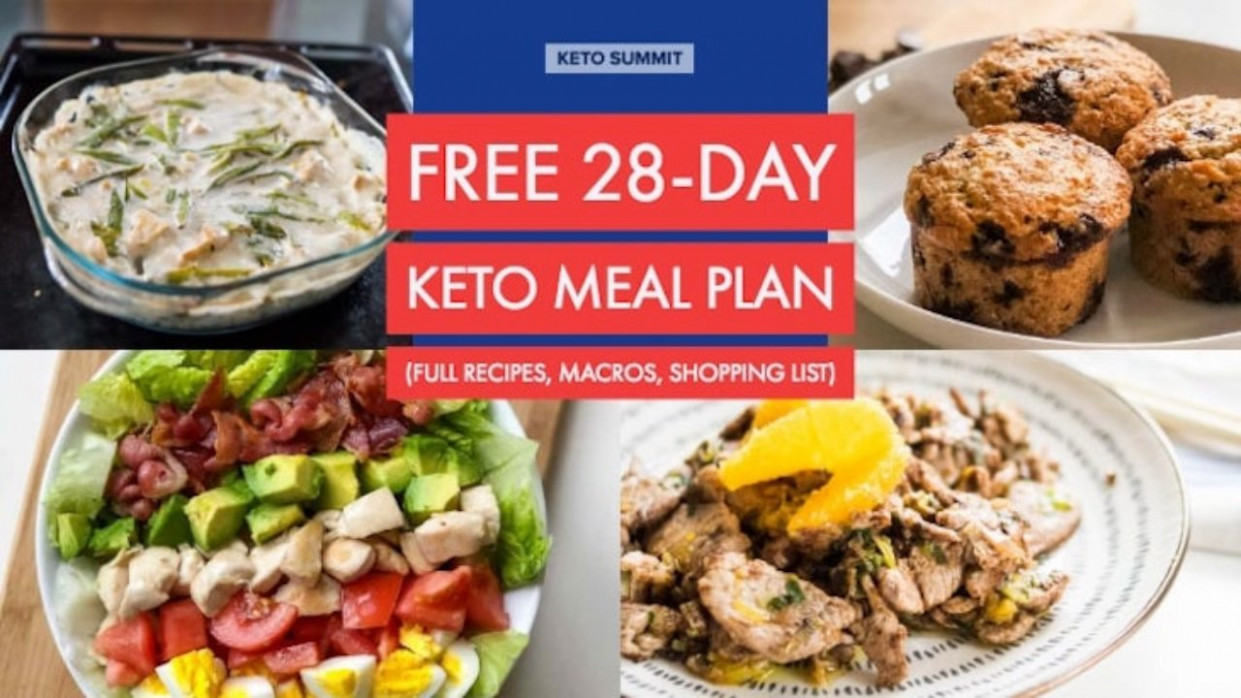 Free 13-Day Keto Meal Plan - keto diet food recipes
