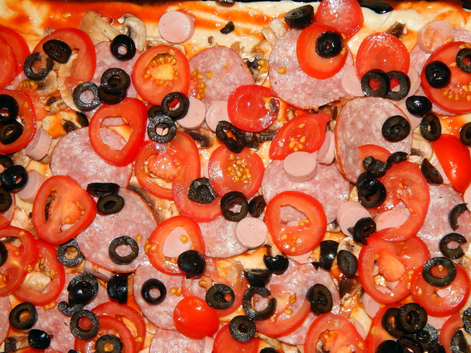 Free Cooking pizza step-by-step recipe with ingredients ..