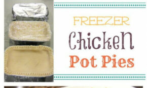 Freezer Meal Recipes: Chicken Pot Pies | Recipe | Freezer ..