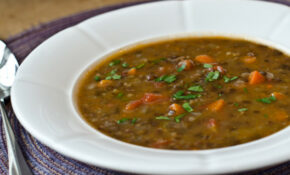 French Lentil And Vegetable Soup With Bacon – Once Upon A Chef – Recipes Green Lentils Vegetarian
