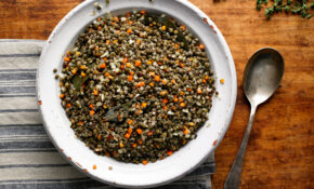 French Lentils With Garlic And Thyme Recipe – NYT Cooking – Recipes Puy Lentils Vegetarian