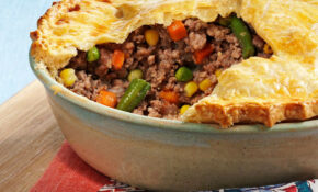 French Meat And Vegetable Pie Recipe | Taste Of Home – Recipes Vegetarian Pies