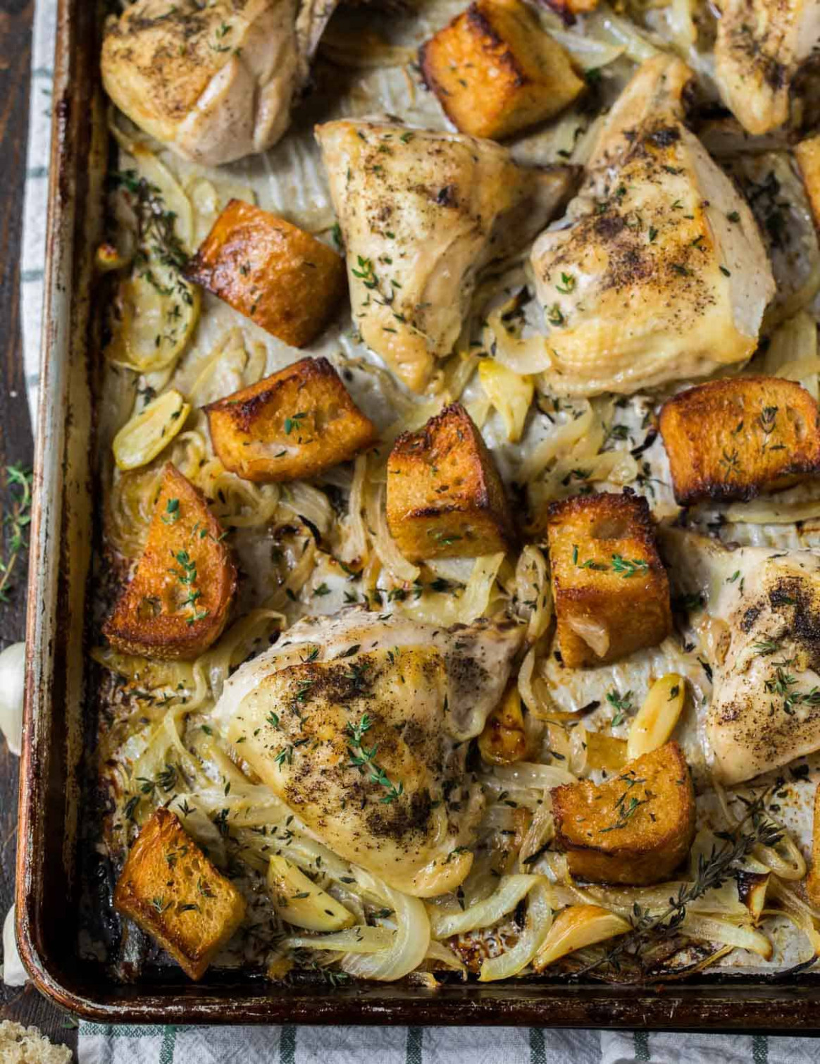 French Onion Chicken - french recipes chicken