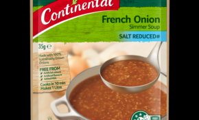 French Onion | Simmer Soup | Continental – Recipe Vegetarian French Onion Soup