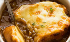 French Onion Soup – Recipe Vegetarian French Onion Soup