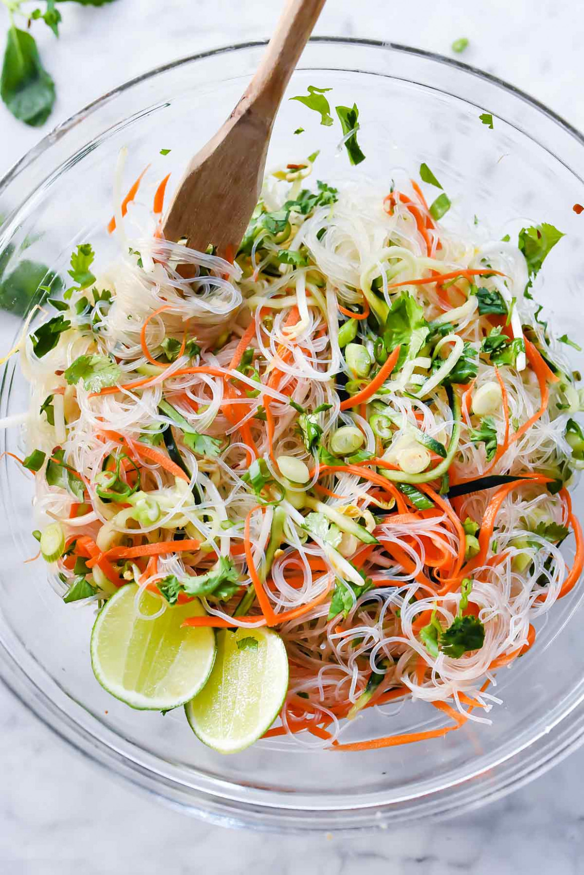 Fresh and Easy Vietnamese Noodle Salad | foodiecrush