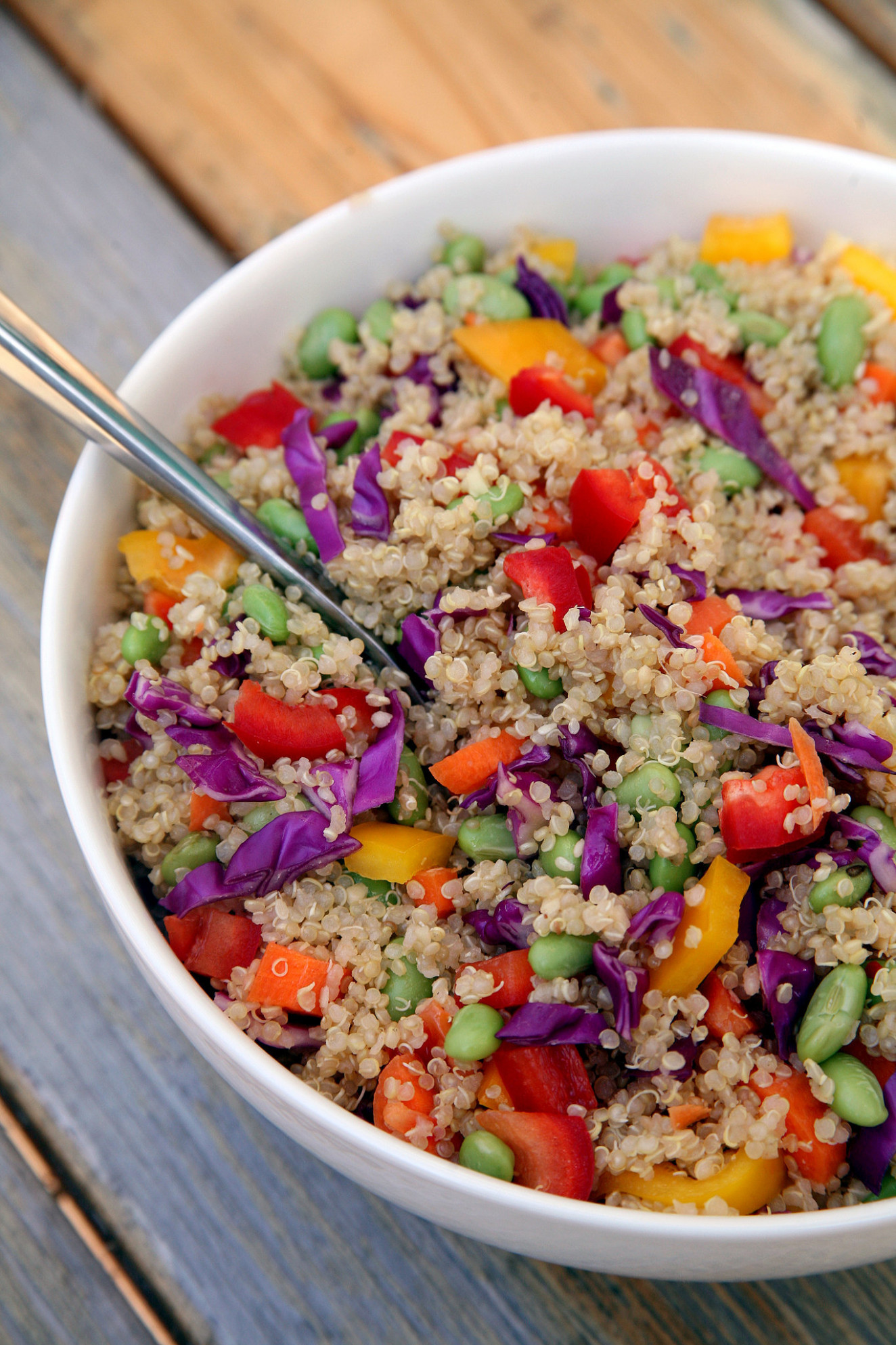 Fresh and Filling, This Protein-Packed Salad Makes the Perfect Post-Workout  Meal - recipes with quinoa vegetarian