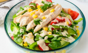 Fresh And Tasty Southwest Chicken Salad Recipe