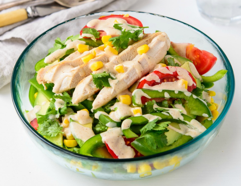 Fresh And Tasty Southwest Chicken Salad Recipe - recipes for chicken salad