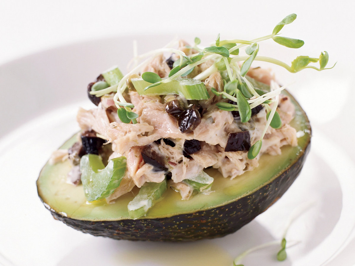 Fresh Tuna Salad With Avocado - Fresh Tuna Recipes Dinner