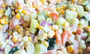 Fresh Vegetable Salad – Recipes Easy Vegetarian