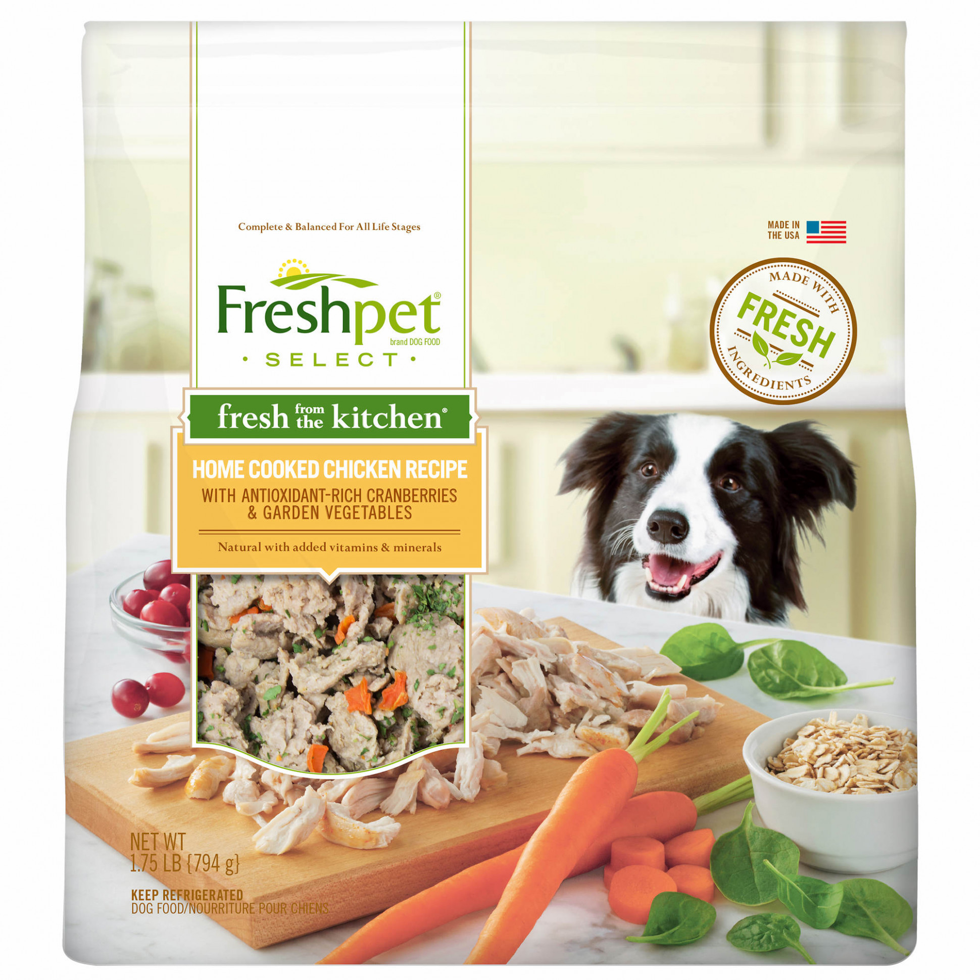 Freshpet Select Fresh from the Kitchen Home-Cooked Chicken ..