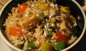 Fried Brown Rice Recipe   How To Make Fried Rice From Brown ..