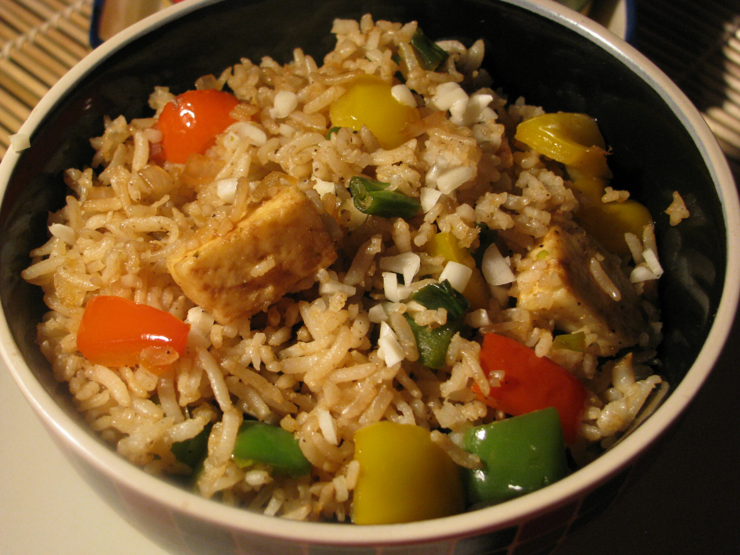 Fried Brown Rice Recipe | How to make Fried Rice from Brown ..