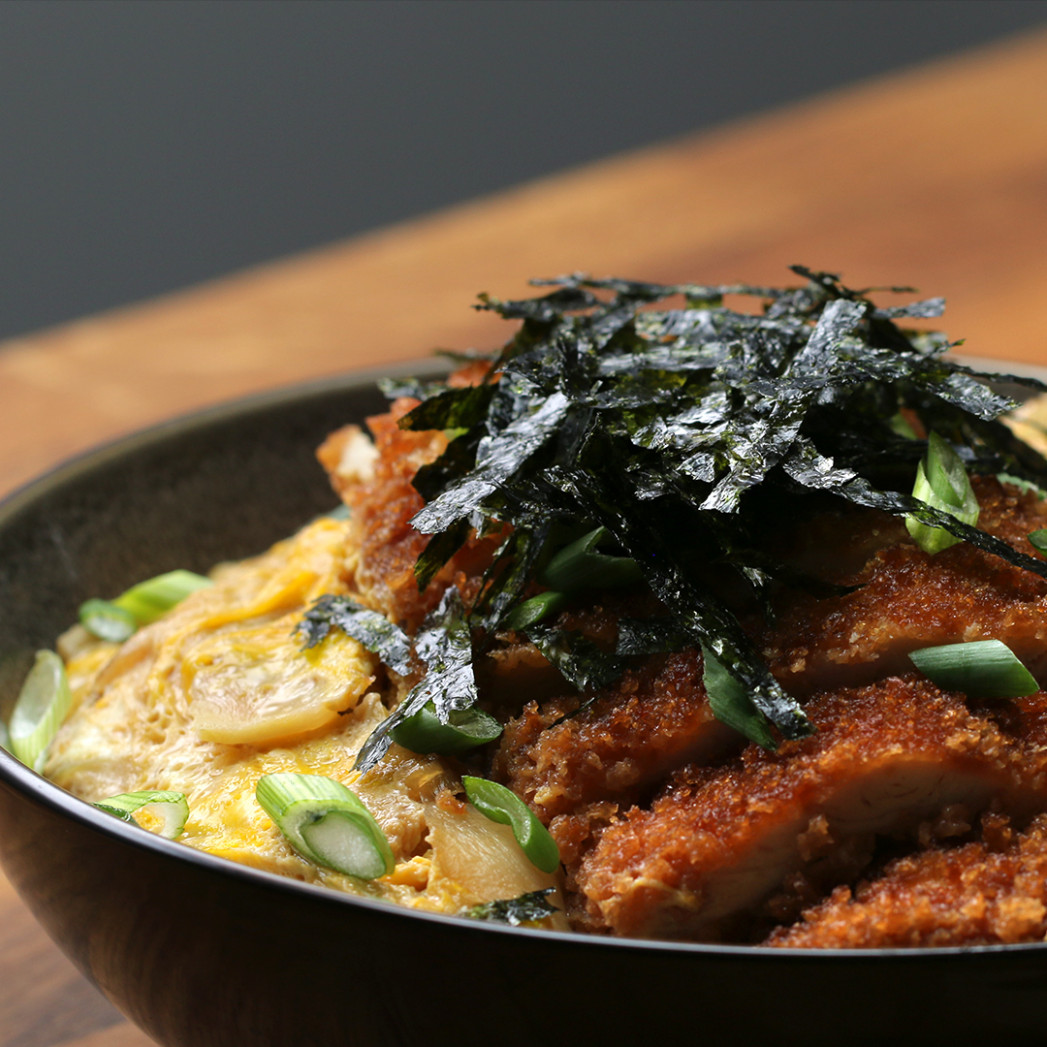 Fried Chicken And Egg Rice Bowl Recipe By Tasty - Rice Bowl Recipes Chicken