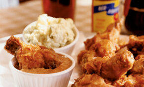 Fried Chicken Littles With All American Potato Salad ..