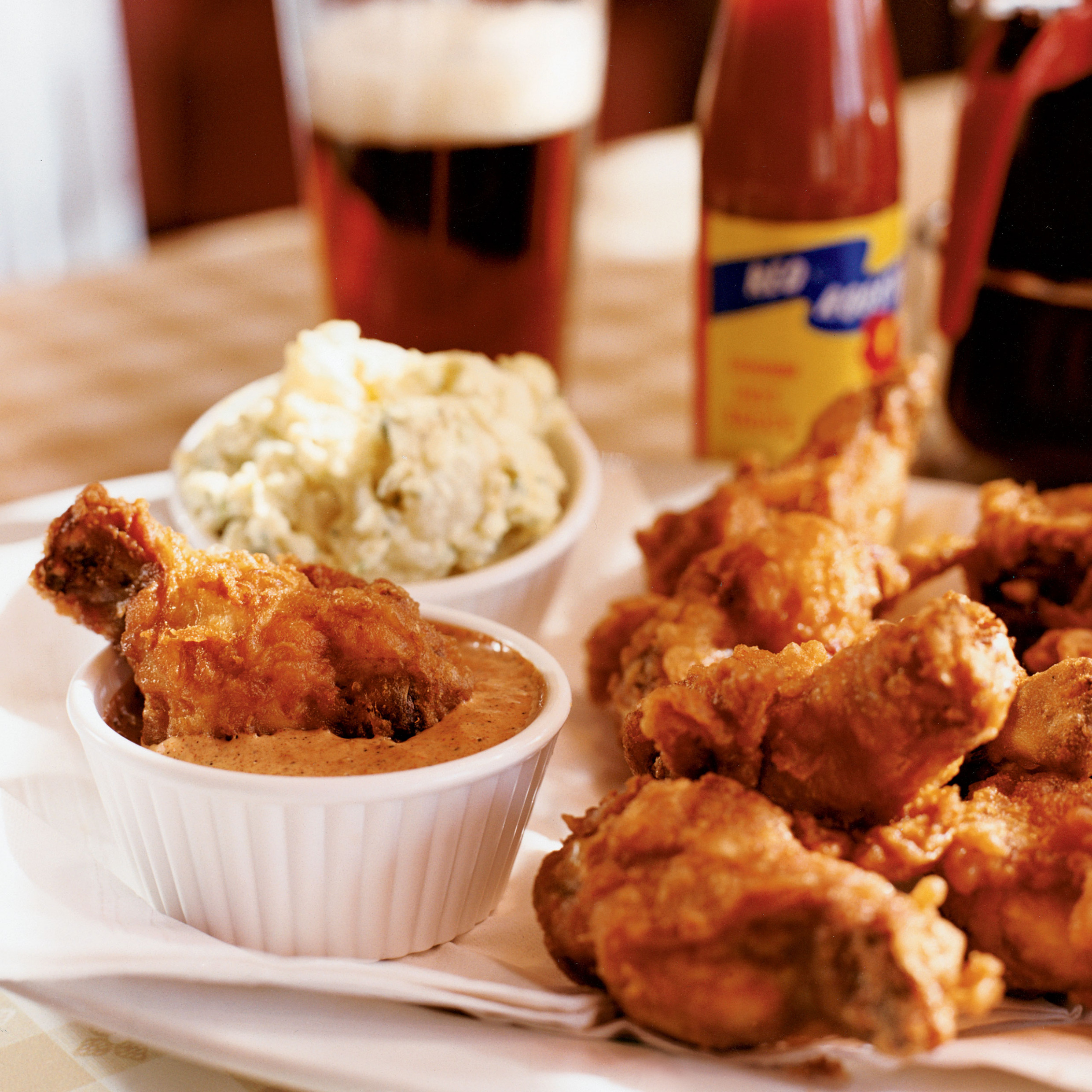 Fried Chicken Littles with All-American Potato Salad ..