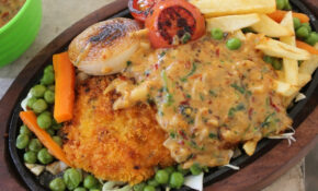 Fried Chicken Sizzler Recipe – Continental Recipes 2 ..
