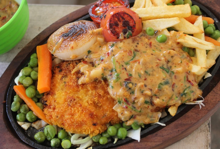 Fried Chicken Sizzler Recipe - Continental Recipes 2 ..