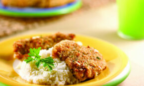 Fried Chicken with Almonds - South Beach Diet Healthy Recipes