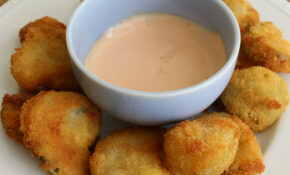 Fried Green Tomatillos And Spicy Cumin Dipping Sauce Recipe – Recipes Hispanic Food